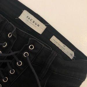 PacSun Jeans - PacSun High Rise lace up pants